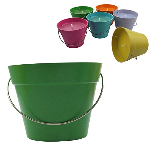 Citronella Candle In Bio pot (GREEN)