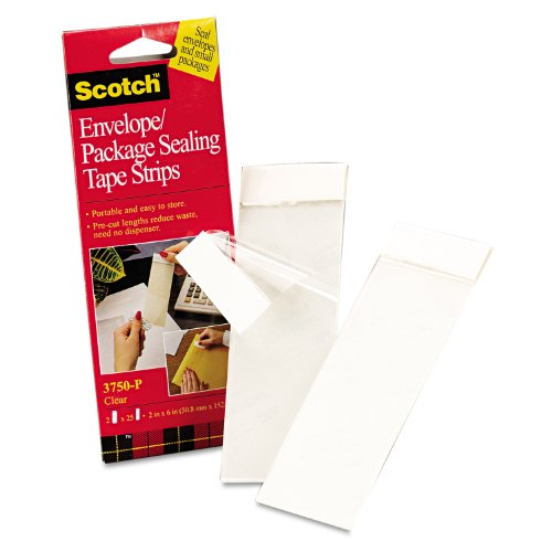 3M 3750P Scotchpad Packaging Tape Pad, Clear 2