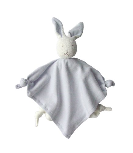 Under The Nile Bunny Blanket Friend, Blue (Discontinued by Manufacturer)