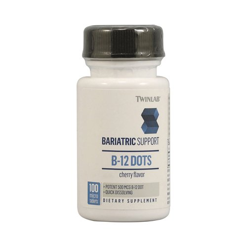 Twinlab Bariatric Support B-12 Dots Cherry - 100 Micro Tablets