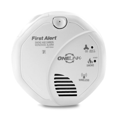First Alert Onelink Carbon Monoxide & Smoke Detector With Voice (Sc0501Cn-3St)