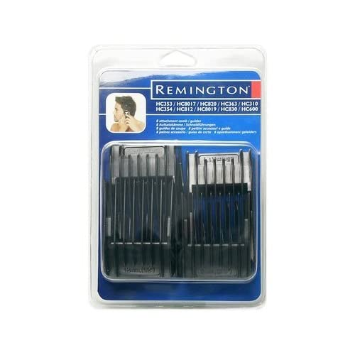 Remington SP254 Hair Attachment Combs 8-Pack