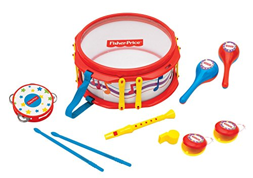 Fisher-Price-Musical-Band-Drum-Set