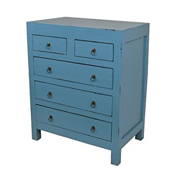 Newton Chest Color: Antique Dark Blue