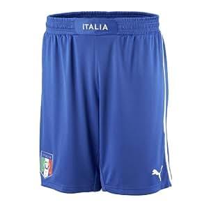 Italy 12/13 Home/Away SS Football Shorts Azzure Blue - XXL