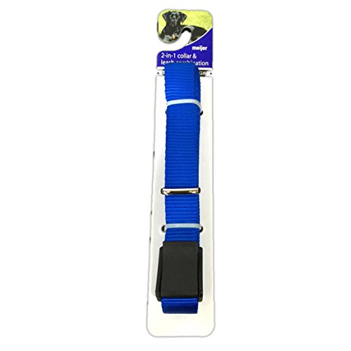 2-n-1-dog-nylon-collar-and-leash-combinations-one-size-fits-all-dogs-with-cambuckle-70-long-blue