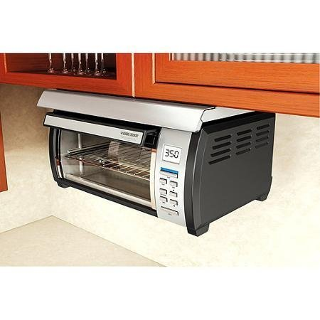 Energy efficient, Touch-button Control Panel Stainless and Spacemaker Toaster Oven, Black and Silver (Under The Cabinet Toaster Oven compare prices)