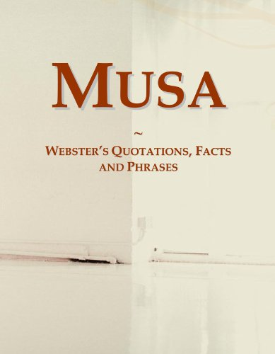 Musa: Webster's Quotations, Facts and Phrases