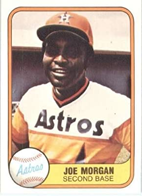 1981 Fleer #78 Joe Morgan Houston Astros Baseball Card