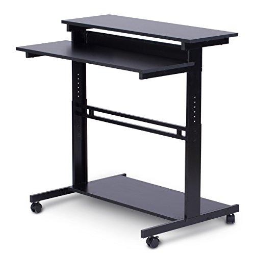 Adjustable Stand Up Desk Devaise Mobile Height Adjustable