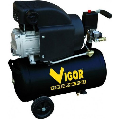 Vigor Vca-8L Kompressor, 220V, 1Zylinder, direkte Übertragung, 2CV, 24l