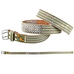 Ed Hardy EH3344 Womens Flare Canvas Belt