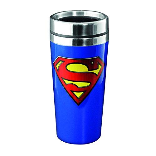 Superman-Tazza da viaggio, colore: multicolore