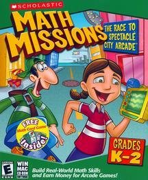 Math Missions With Card Game (Kindergarten - 2Nd Grade) front-546084