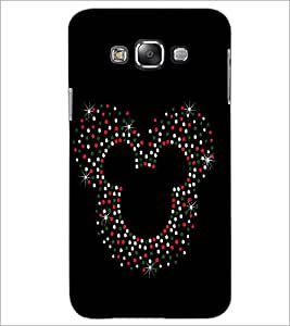 PrintDhaba Mickey Impression D-1961 Back Case Cover for SAMSUNG GALAXY GRAND MAX (Multi-Coloured)