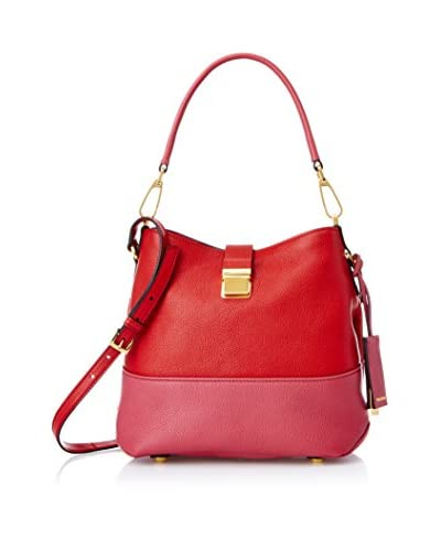 Miu Miu Women's Borsa Madras Shoulder Bag, Fuoco/Bruy