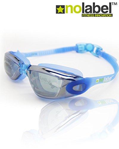 Schwimmbrille – Anti Nebel Schwimmbrille mit UV-Schutz – Easy Clip Schwimmbrillen-System – Männer Schwimmbrille oder Frauen Schwimmbrille – 3 Farben verfügbar