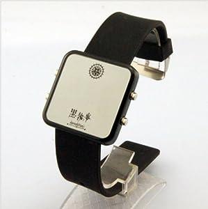 Black Butler Ciel Phantomhive LED Ultrathin Noctilucent Watch
