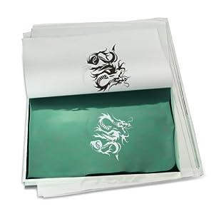 Amazon.com : RHX 10 Sheets Tattoo Transfer Carbon Paper Supply Tracing