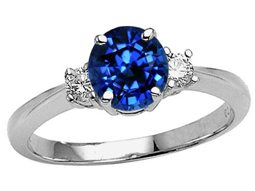 blue sapphire engagement rings - Blue Sapphire Wedding Rings