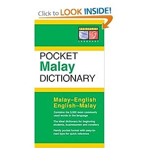 Malay Dictionary (Periplus Pocket Dictionary)