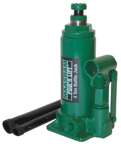 Maasdam MPL4B Bottle Jack , 4 Ton, Green