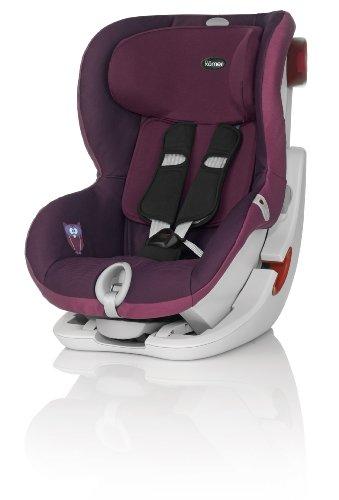 Britax-Roemer KING II LS Seggiolino Auto Gruppo 1, 9-18 kg, Viola (Dark Grape), 9 mesi - 4 anni