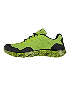 Under Armour Men's UA Spine™ Rebel Storm Running Shoes 12.5 HYPER GREEN