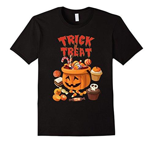 Trick or Treat Pumpkin Sweets T-Shirt