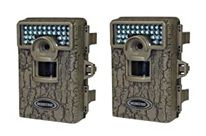 2 MOULTRIE Game Spy Mini M-80XD Infrared Digital Trail Game Cameras 5MP - Videos by Moultrie