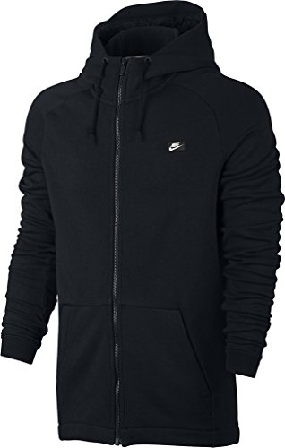 Nike mens M NSW MODERN HOODIE FZ FT 805130-010_M - BLACK