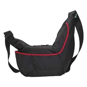 Lowepro Passport Sling II Bag for reflex Camera - Black/Red