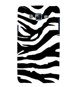 Tiger Pattern 3D Hard Polycarbonate Designer Back Case Cover for Samsung Galaxy J7 (2015) :: Samsung Galaxy J7 J700F (Old Version)