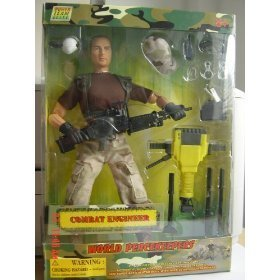 Buy Low Price POWER TEAM WORLD PEACEKEEPERS COMBAT ENGINEER Figure (B002RSCFRO)