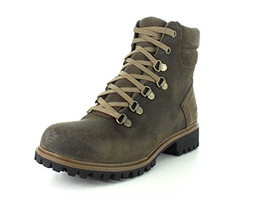 Timberland Wheelwright Waterproof Hiker - Women's Dark Brown Suede 8.5 (Customized Timberland Boots compare prices)