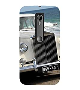 Evaluze car Printed Back Case Cover for MOTOROLA MOTOG3
