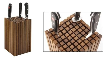 Superbe Wusthof 15 Slot Maple Knife Storage Block Review