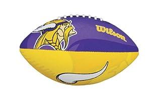 Wilson NFL Junior Team Logo Football (Minnesota Vikings)