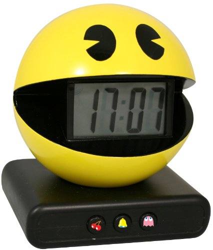 Paladone Pac-Man Alarm Clock  Authentic Game