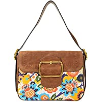 Tory Burch Women's Sawyer Suede Shoulder Bag (Martora)
