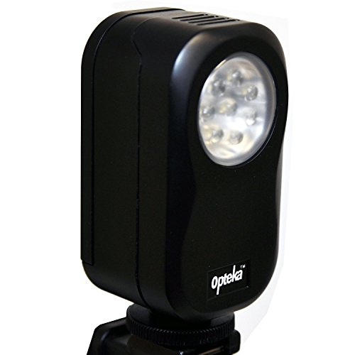 Opteka Vl-20 Universal Led Video Camera Light For Sony, Panasonic, Canon, Flip, Jvc, Toshiba, Samsung & Kodak Camcorders