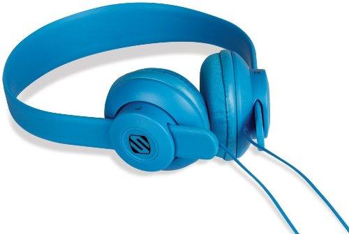 Scosche Shp400-Bl Lobedope On-Ear Headphones - Retail Packaging - Blue