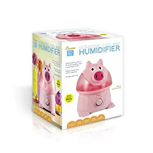 2 X Crane Adorable Ultrasonic Cool Mist Humidifier with 2.1 Gallon Output per Day - Pig from Crane