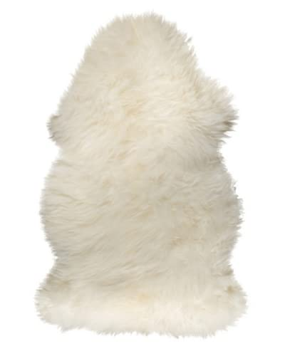 Natural Brand New Zealand Sheepskin Single Rug, Natural, 2' x 3'