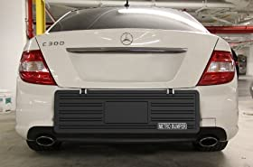 MetroBumper - Heavy Duty Outdoor Rear Bumper Guard. Premium Quality Bumper Protector. Ultimate Best Bumper Protection!