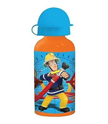 Feuerwehrmann Sam Jungen Alu-Trinkflasche - blau