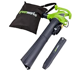 Greenworks 24022 12 Amp 2 Speed Electric 230 MPH Blower Vac