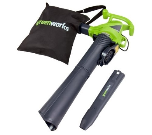 Check Out This GreenWorks 24072 12 Amp Variable Speed Corded Blower/Vac
