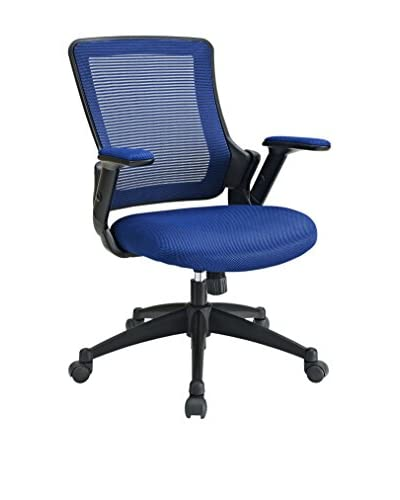 Modway Aspire Fabric Office Chair, Blue