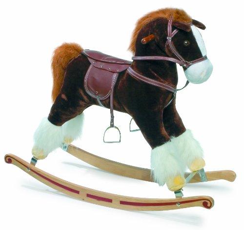 Flash Plush Rocking Horse